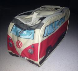 VW Kombi Toiletry Bag - Red