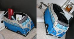 VW Kombi Toiletry Bag - Blue