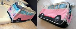 VW Kombi Toiletry Bag - Pink