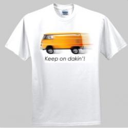 Keep on dakin'! VW Kombi Design - Men's 'Gildan' Slim T-Shirt