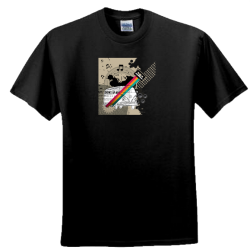 Old School Kombi Design - Men and Women's 'Gildan' Slim T-Shirt
