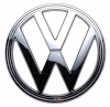VW Kombi Badge / Emblem Chrome