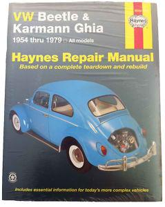 VW Beetle and Karmann Ghia Haynes Repair Manual