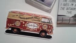 VW Fridge magnet