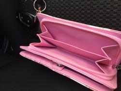 Pink VW Kombi Wallet