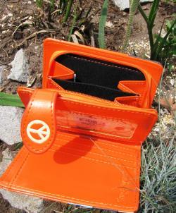 Catch a Wave Kombi Wallet - Sunset Orange