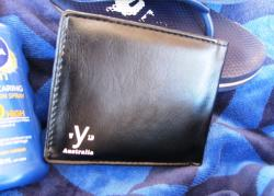 Mens Black VW Kombi Wallet