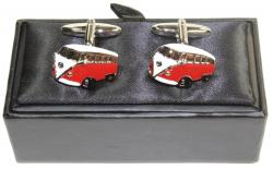 VW Kombi Cufflinks - Split Window, Type 1