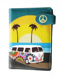 VW Kombi Catch a Wave Passport Holder