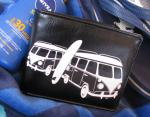 Mens Black VW Kombi Wallet